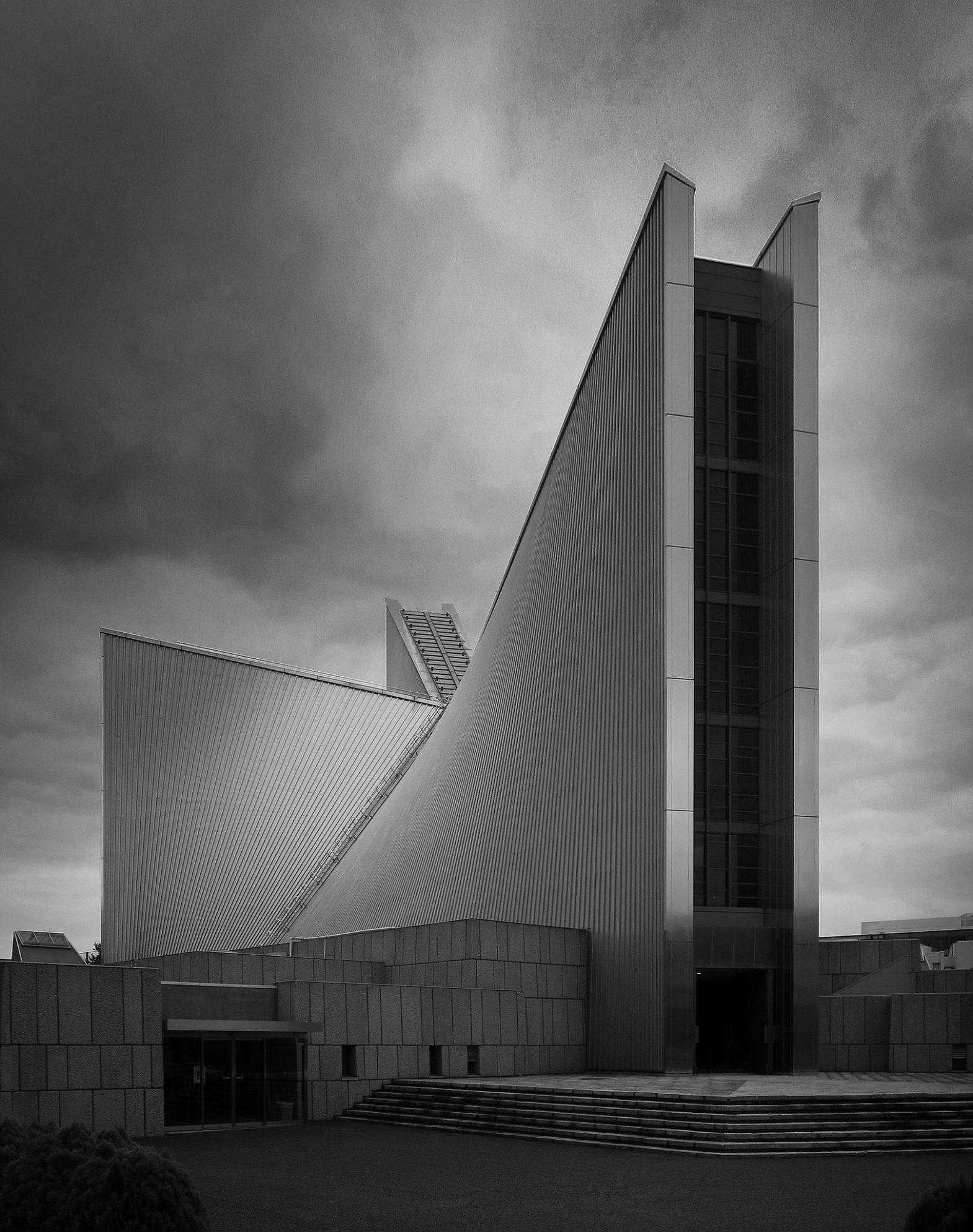 St. Mary's Cathedral | Kenzo Tange, Architecture And ..