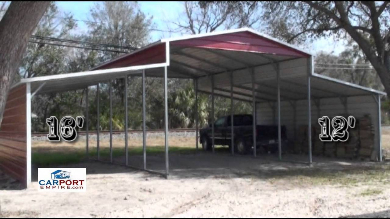 Steel Barns - 8'X8' Steel Barn, Garage, Lean To Building By Carport Empire