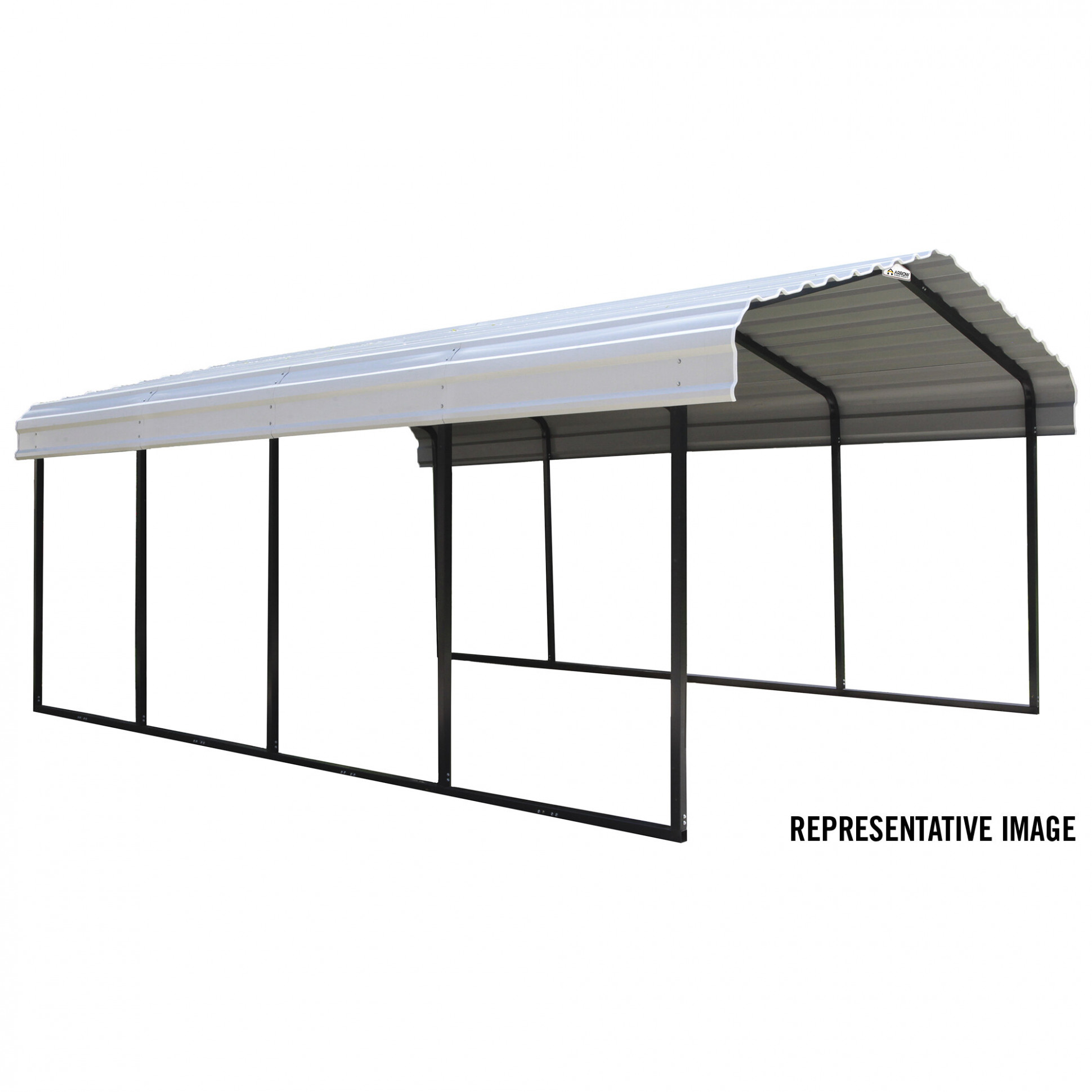 Steel Carport Canopy Ideas For Outdoor Carports