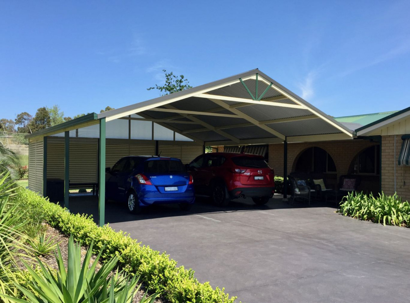 Steel Carports High Strength Low Maintenance Premier ..