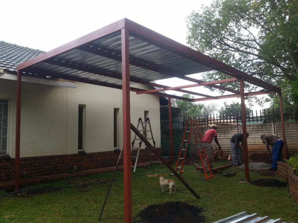 Steel Carports & Shadeports For New Installation ,we Do ..