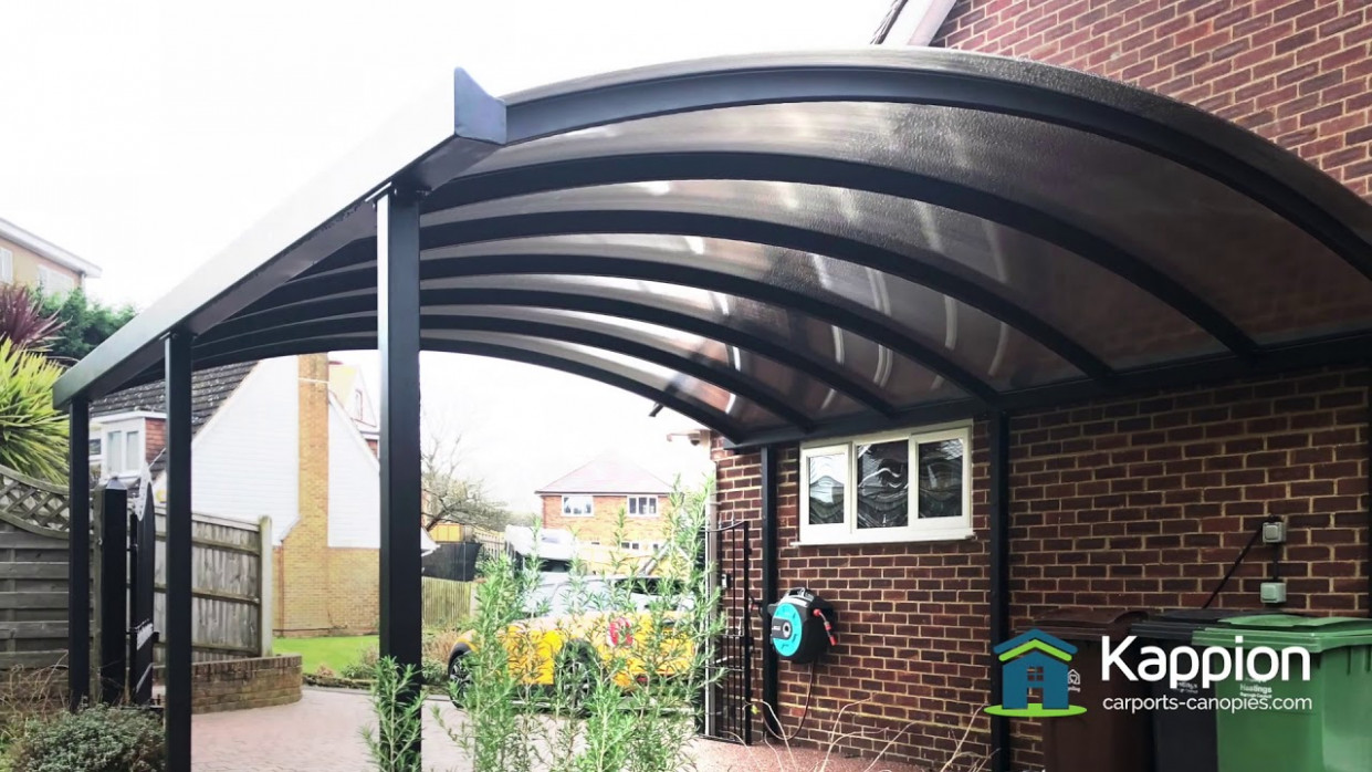Steel Curved Carport Canopy The Ultimate Protection Metal Canopy Carports