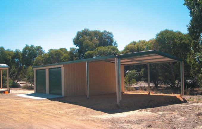 Steel Garaports Custom Designed | Wide Span Sheds Garage Carport Nz