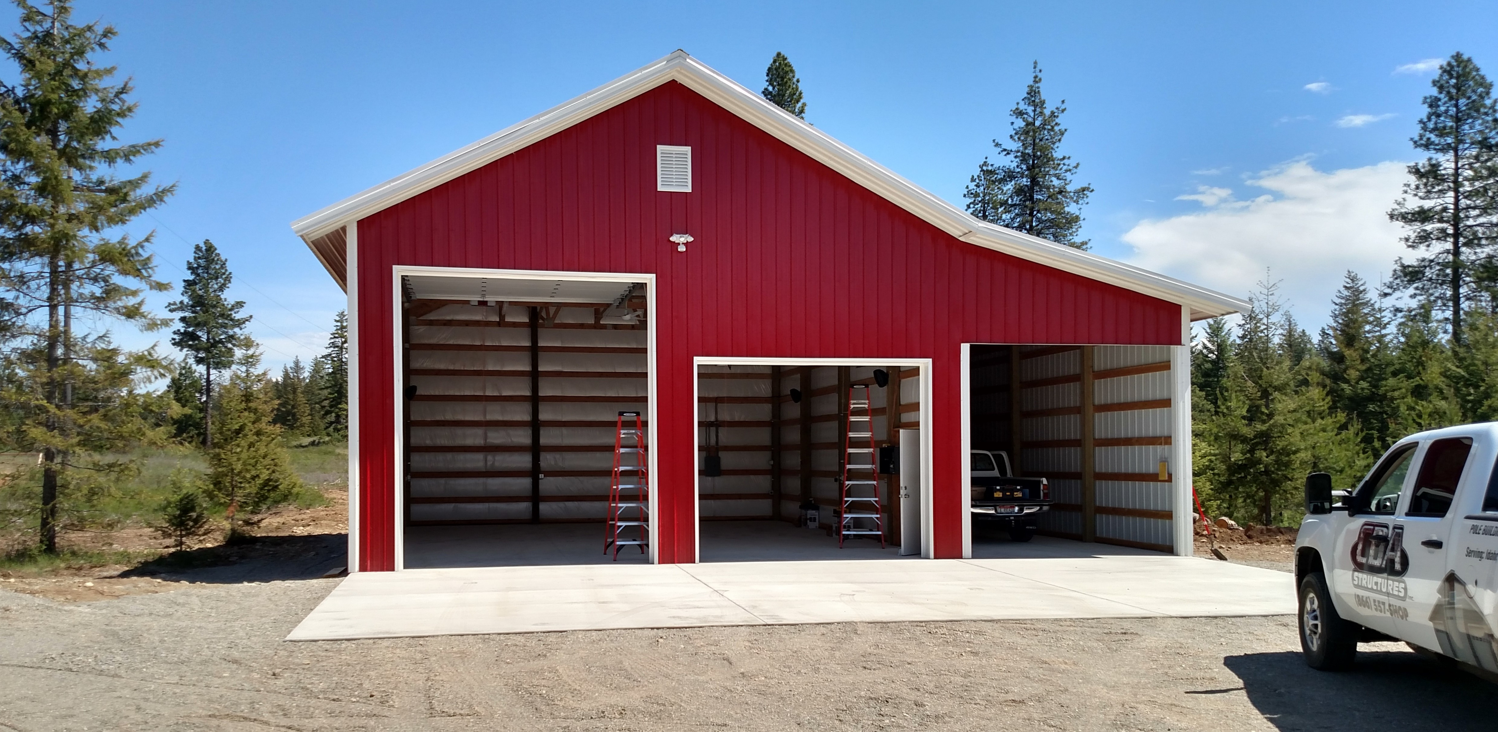 Steel & Metal Storage Buildings: Shops & Garages Garage Carport Buildings