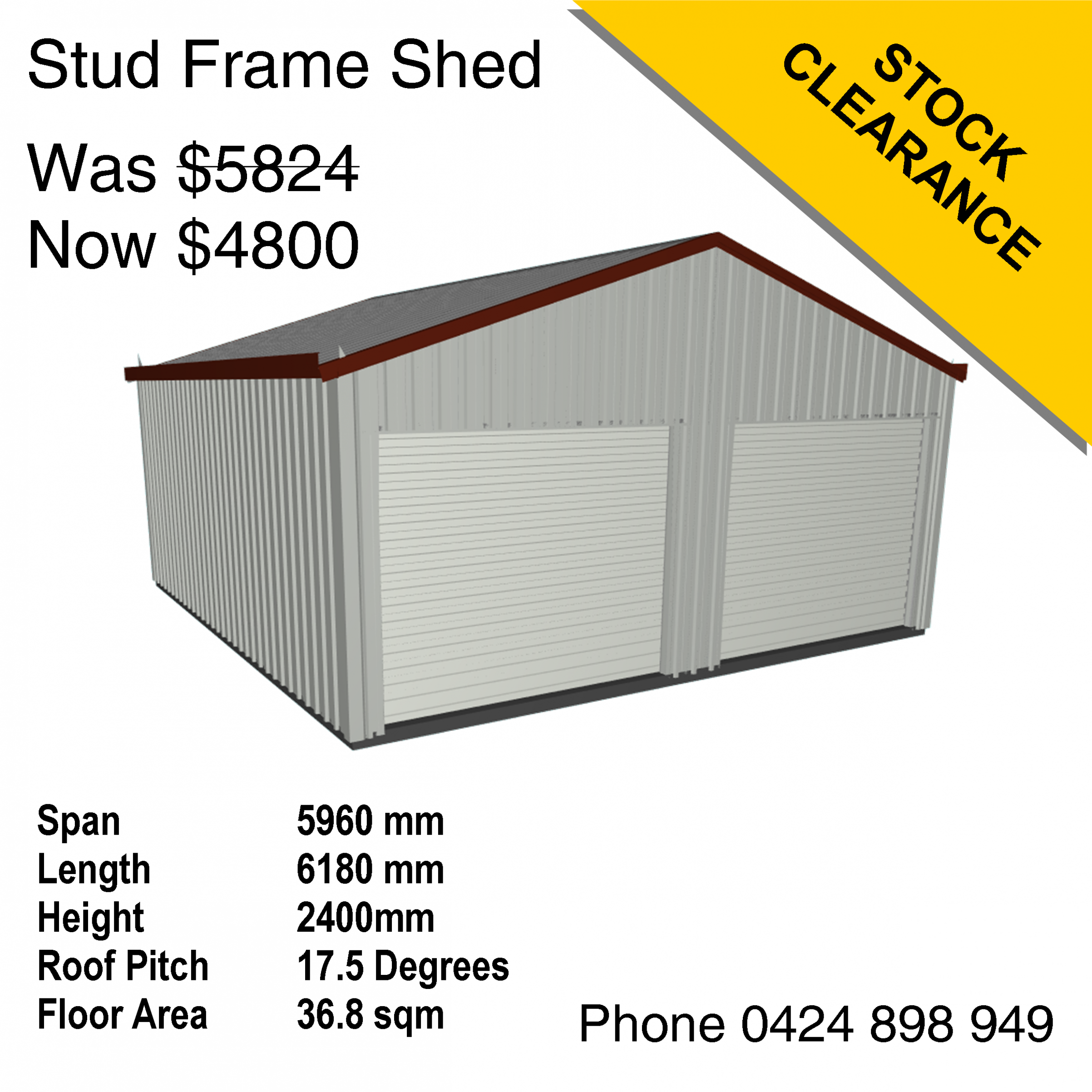 Stock Clearance Mecano Sheds And Kit Homes Carport Roof Height