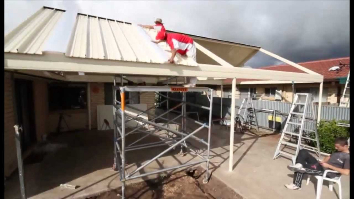 Stratco Outback | Gable Clearspan | Veranda, Patio, Carport | How To Installation Carports Modern Youtube