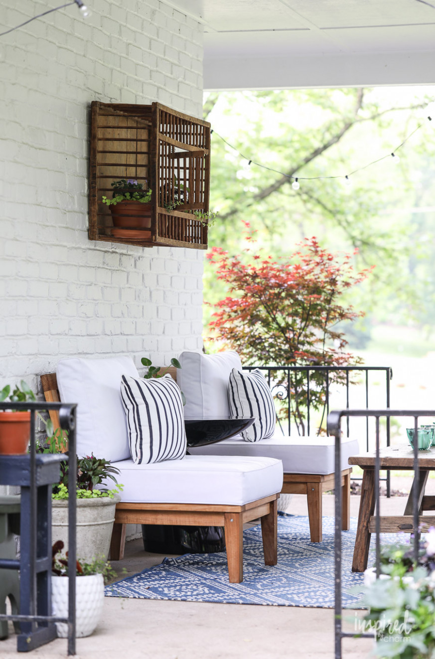 Summer Decorating: Porch And Patio Ideas + VIDEO For Stylish ..