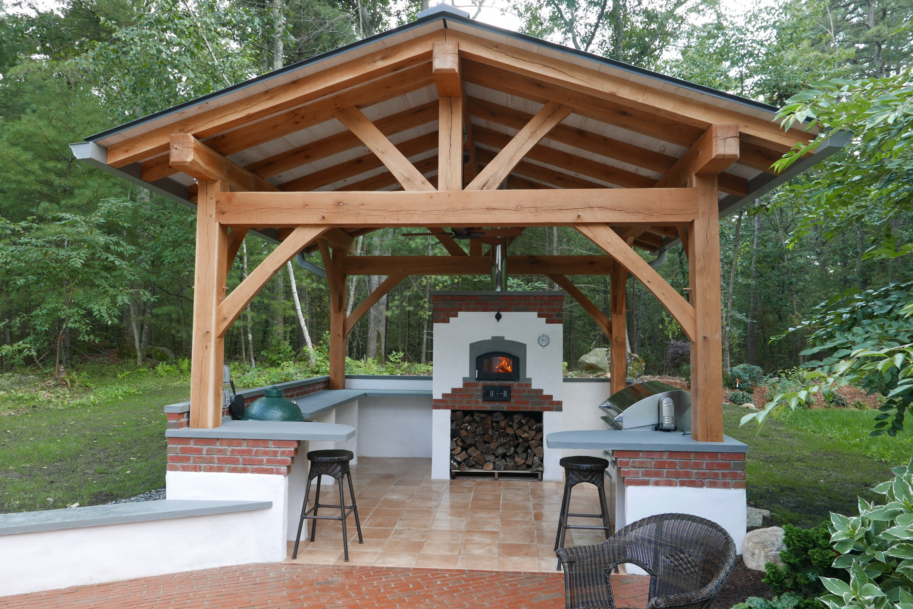 Tag For Metal : Timber Frames Hearth Metal Carport Outdoor ..