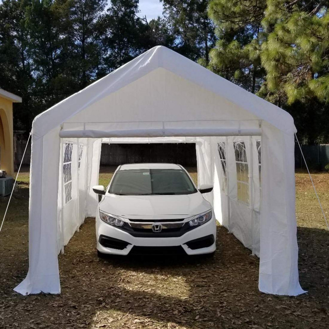 The 12 Best Carport Kits To Buy 12 Auto Quarterly Carport Canopy And Frame