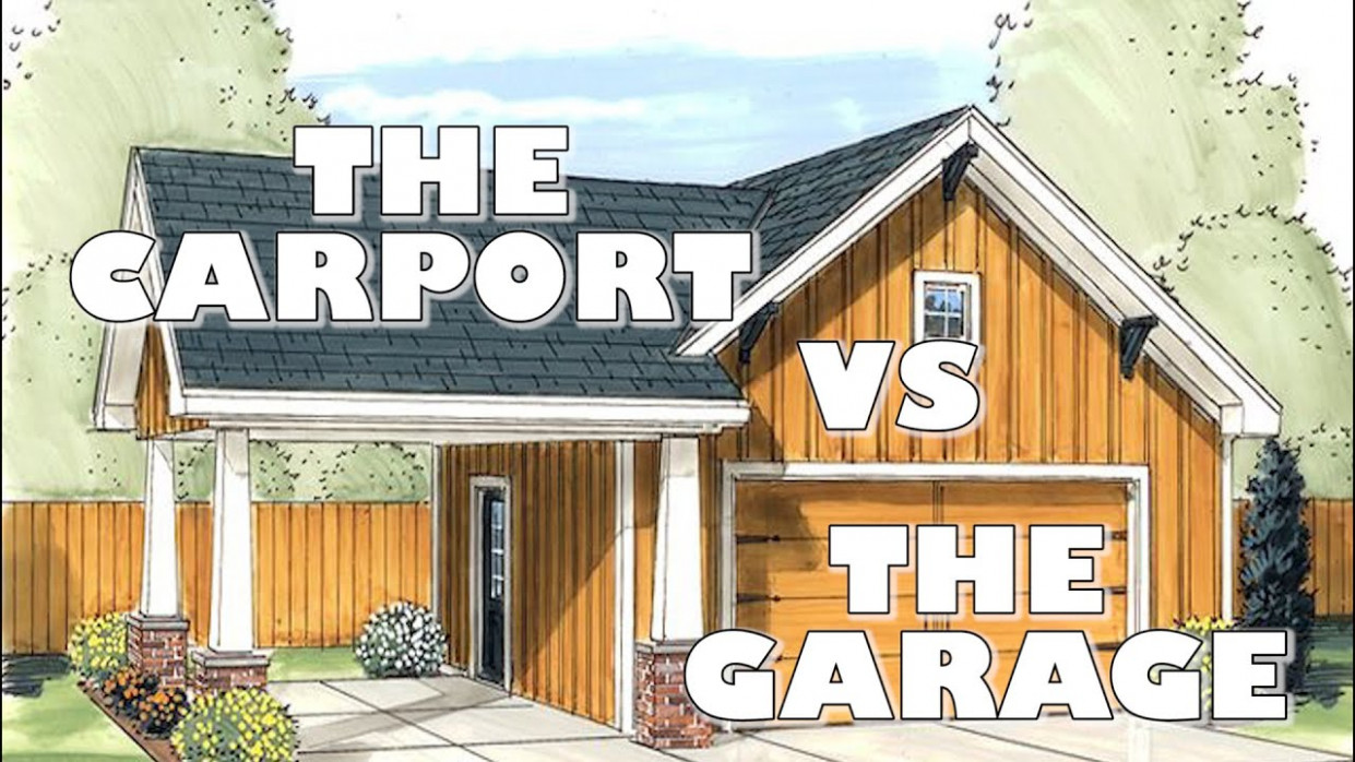 The Carport Vs The Garage Difference Between Carport & Garage