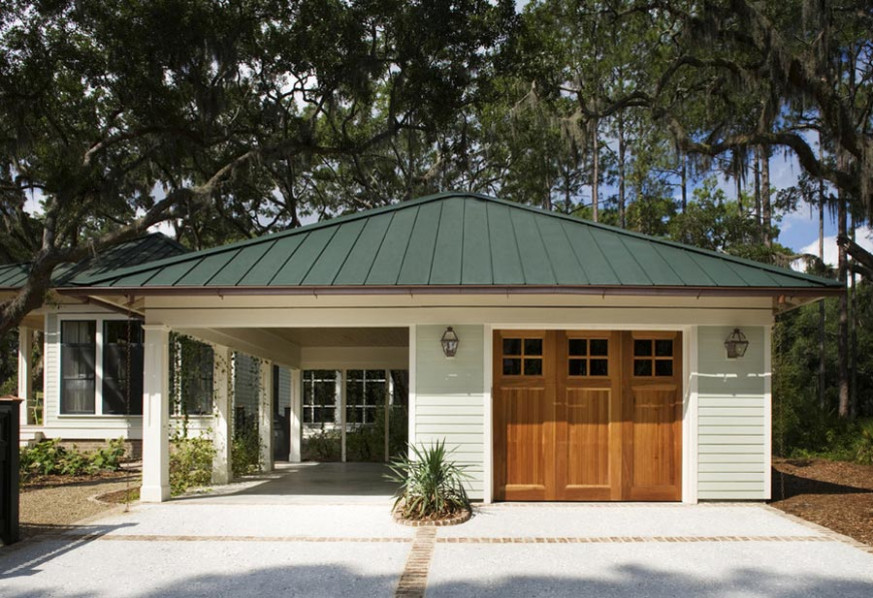The Ideal Carport Sizes Customized With Your Home Carport With Garage Behind