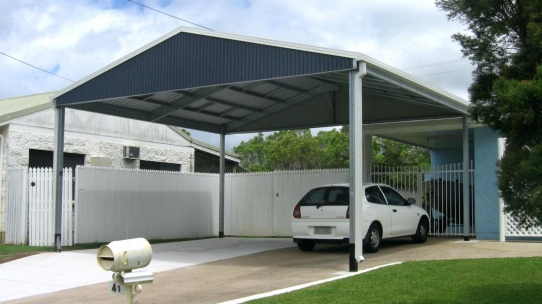 The Is A High Performance Carport Double Carports North ..