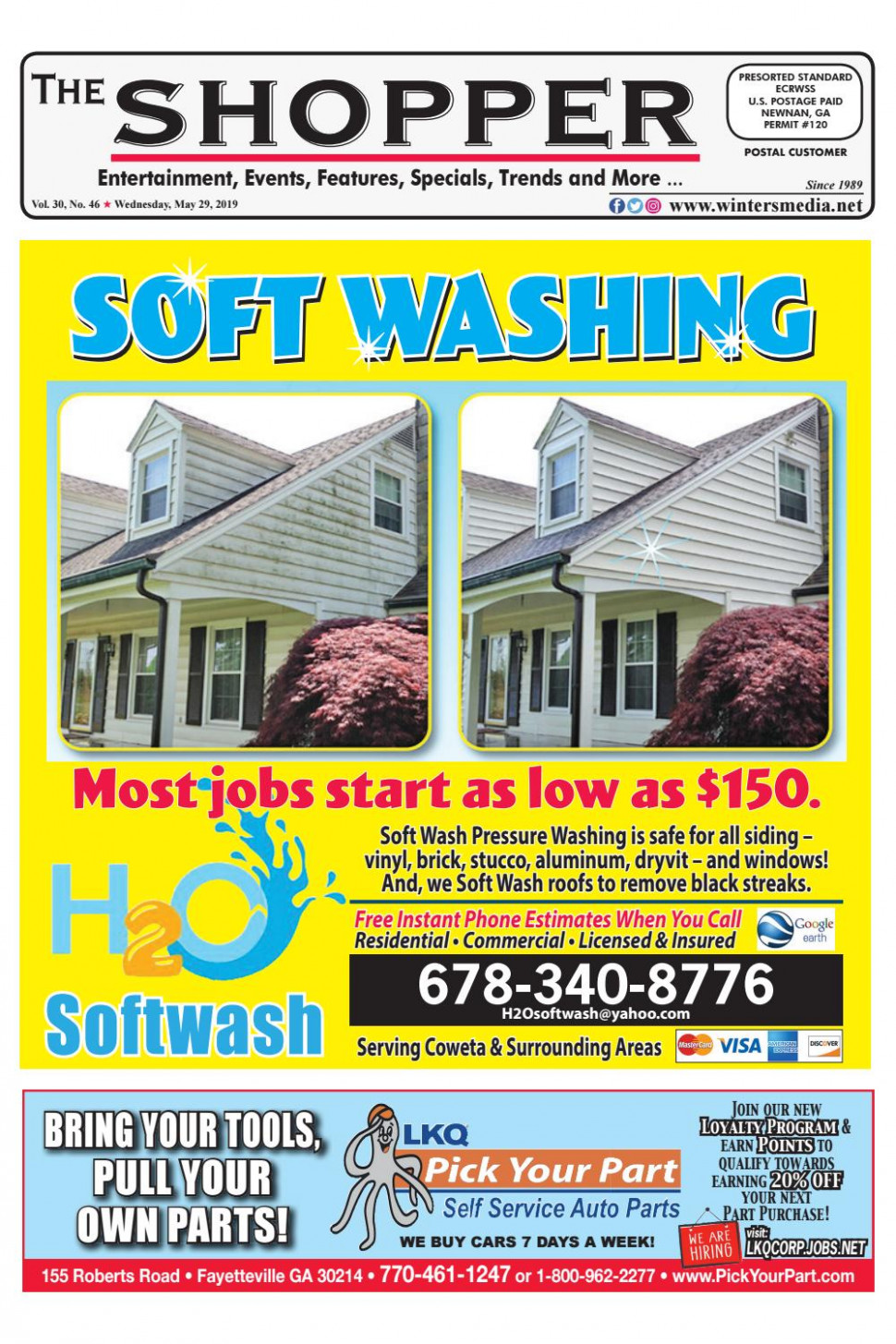 The Shopper May 9, 9 Issue By The Coweta Shopper Issuu Carports Decorating Jobs