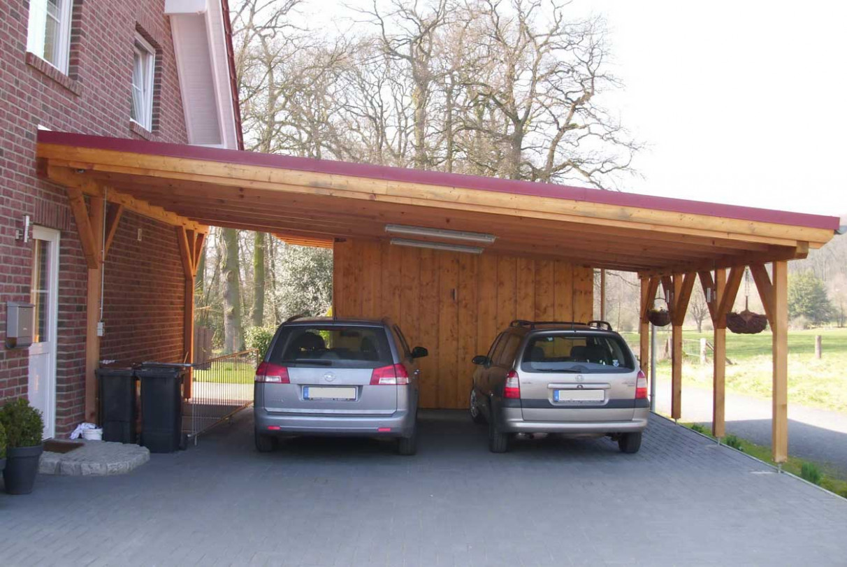 Things To Take Care Of Before Building A Carport Wooden Carport Photos