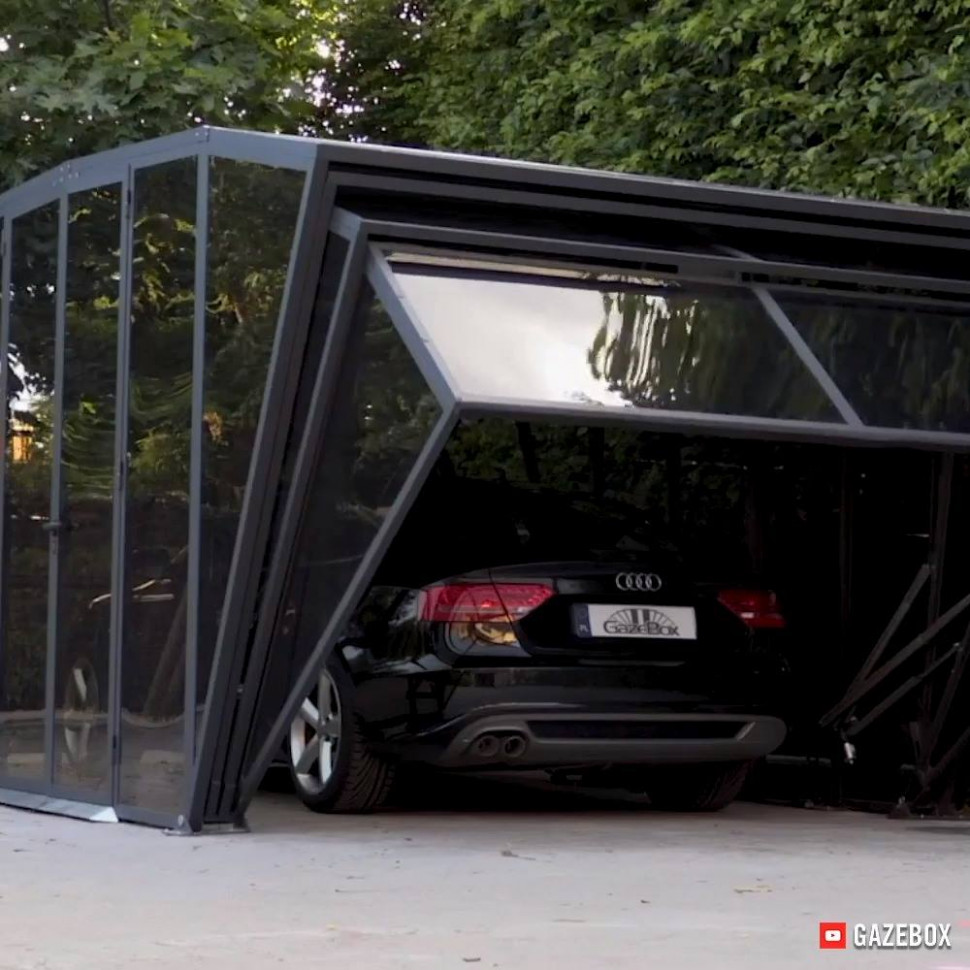 This Foldable Cover System Can Be Used As A Gazebo, Garage ..