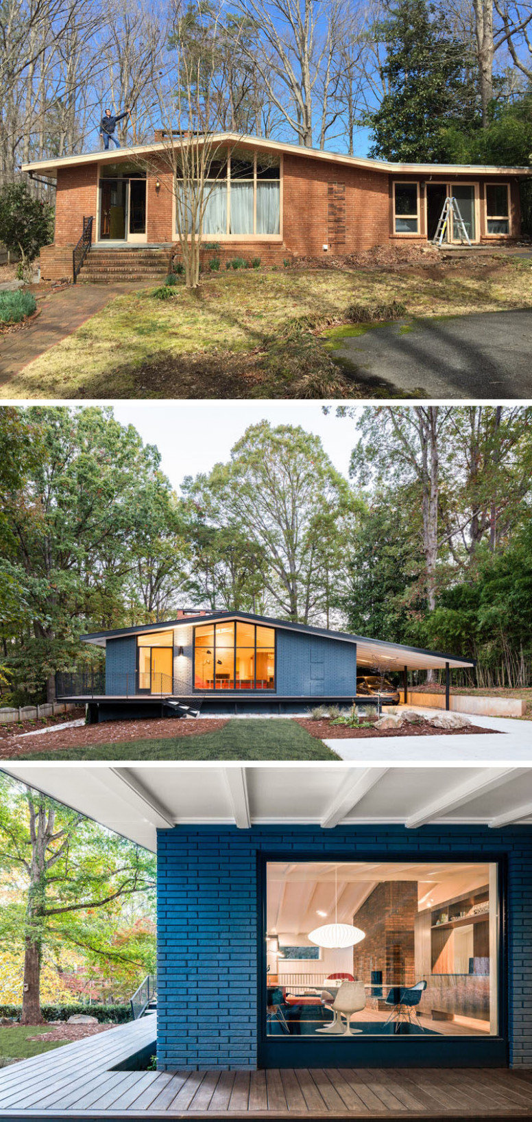 This Mid Century Modern House In North Carolina Received A ..