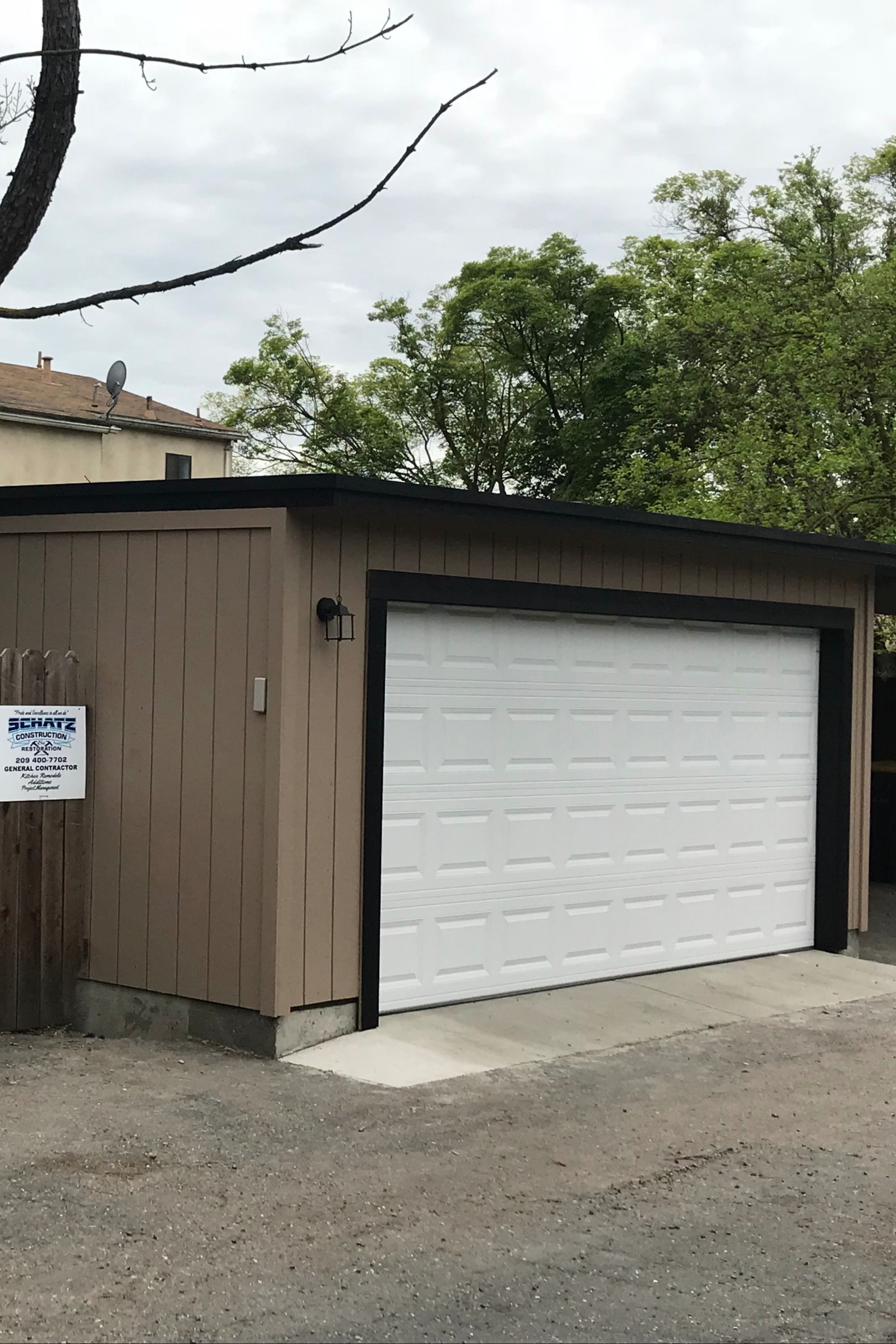 This Used To Be A 13 Car Carport. | Garage Transformations ..