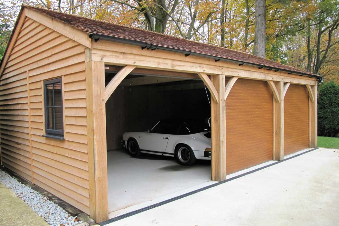 Three Bay Carport Ascot Timber Buildings Carport Images Uk