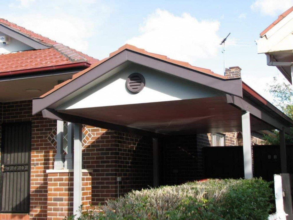 Tiled Roof Gable Carports Gallery Starport Constructions Carports Tiled Roof