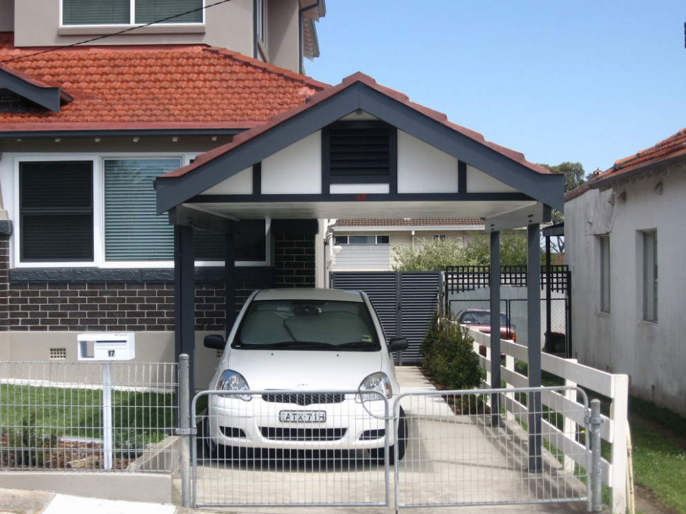 Tiled Roof Gable Carports Gallery Starport Constructions Gable Roof Carports