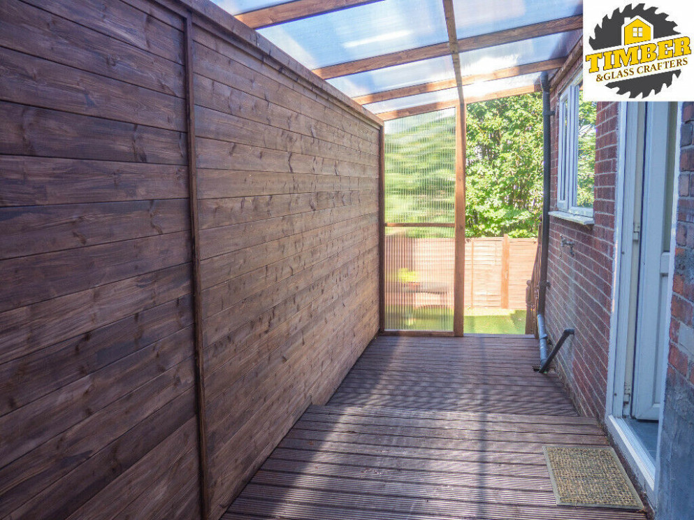 Timber Custom Lean To Roof Tree Cutting, Garden Rooms ..