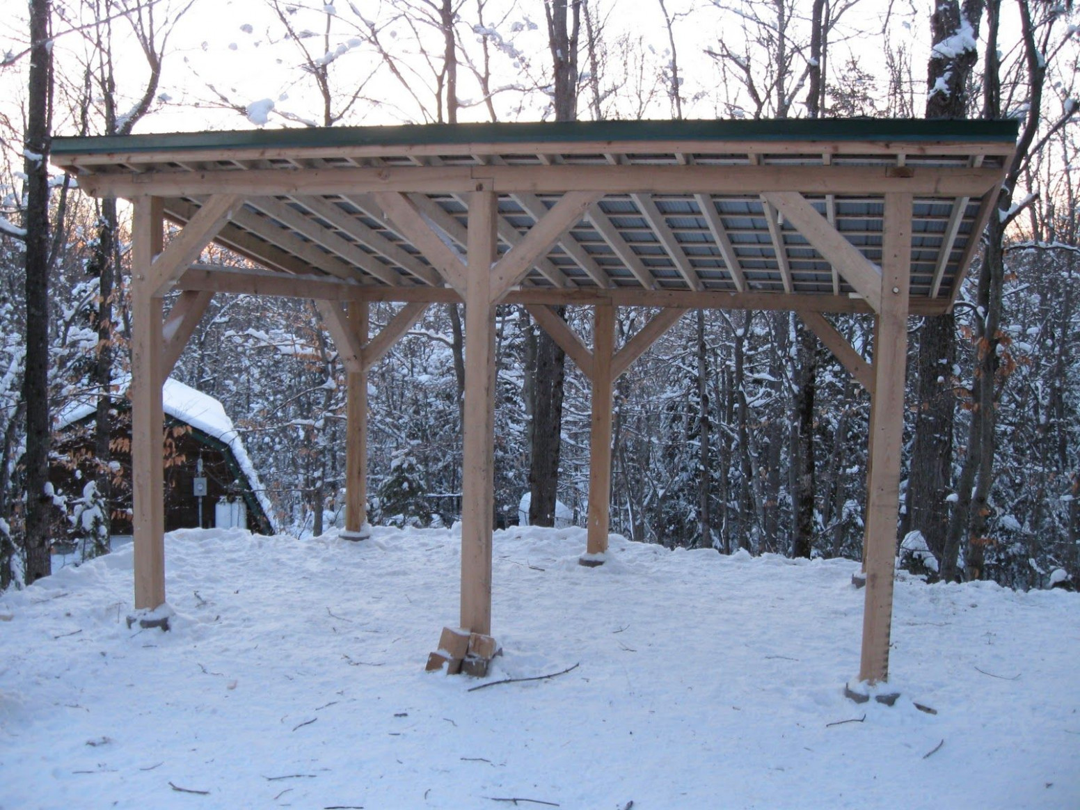 Timber Frame Carport Plans | Timber Frame Post And Beam ..