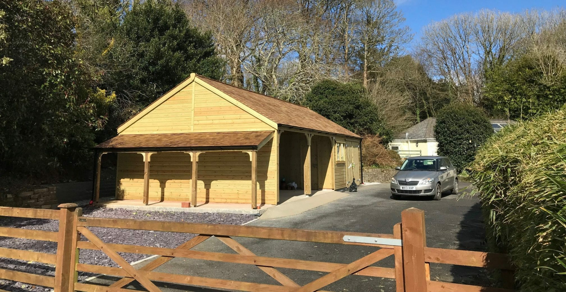 Timber Frame Carports | Shields Buildings Carport Wooden Quotes