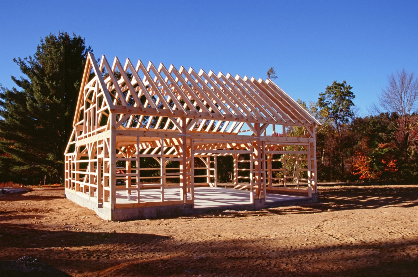 Timber Frame Kits: The Barn Yard & Great Country Garages Wooden Carport Builders
