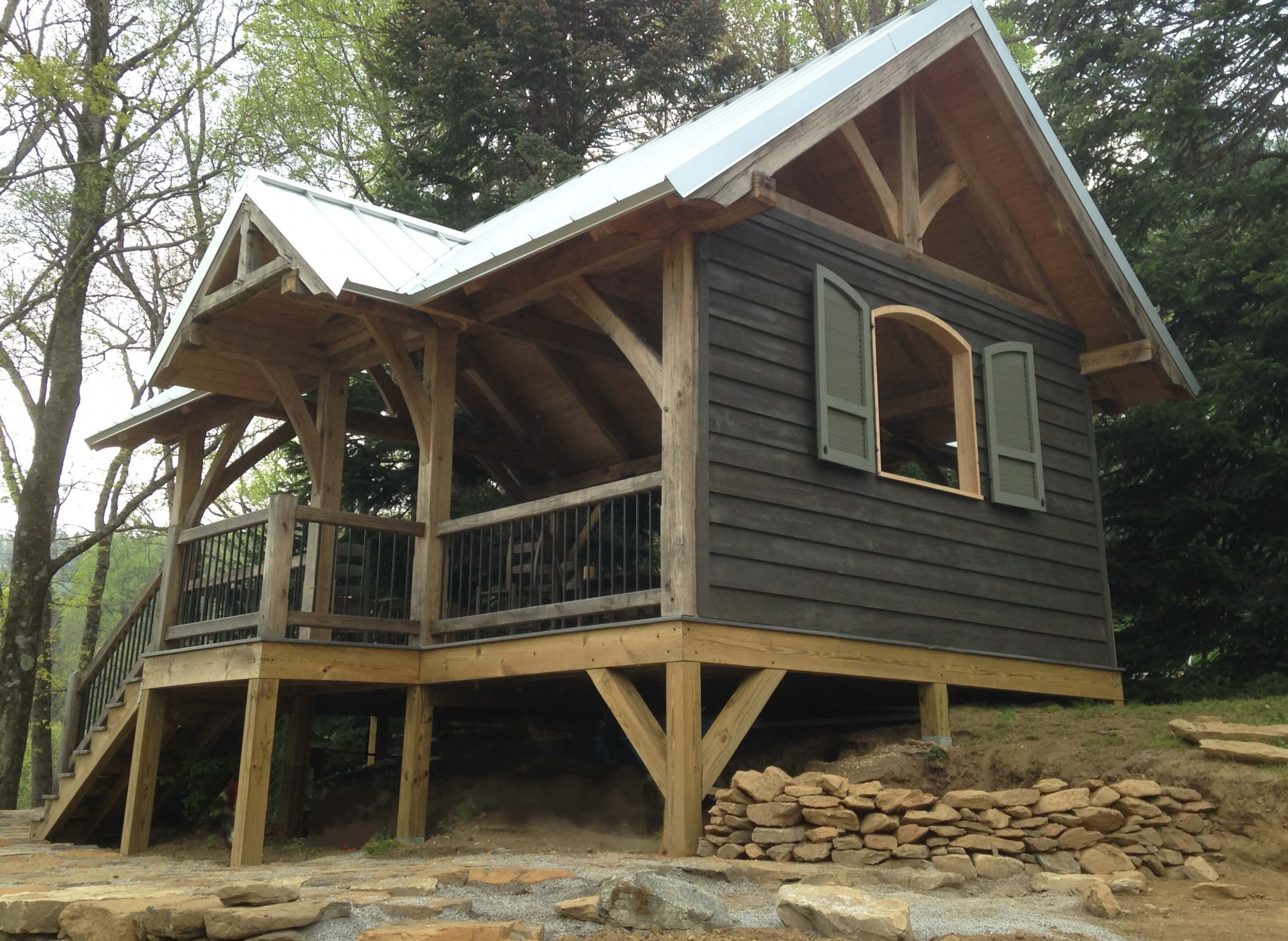 Timber Frame Outbuildings Carports, Outdoor Kitchens & More Free Standing Wooden Carports