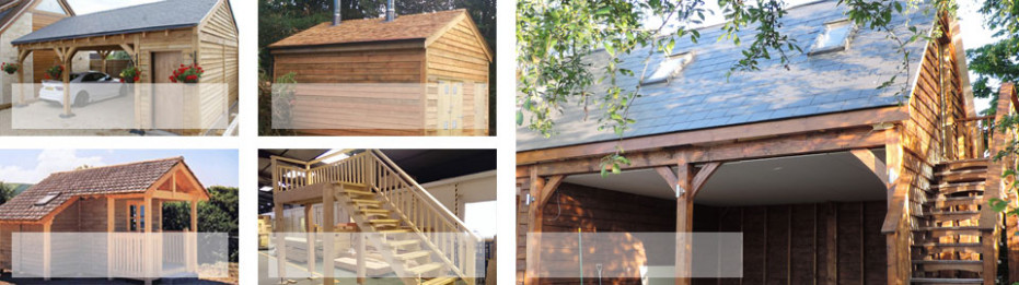 Timber Frame Post And Beam Buildings, Garages, Carports ..