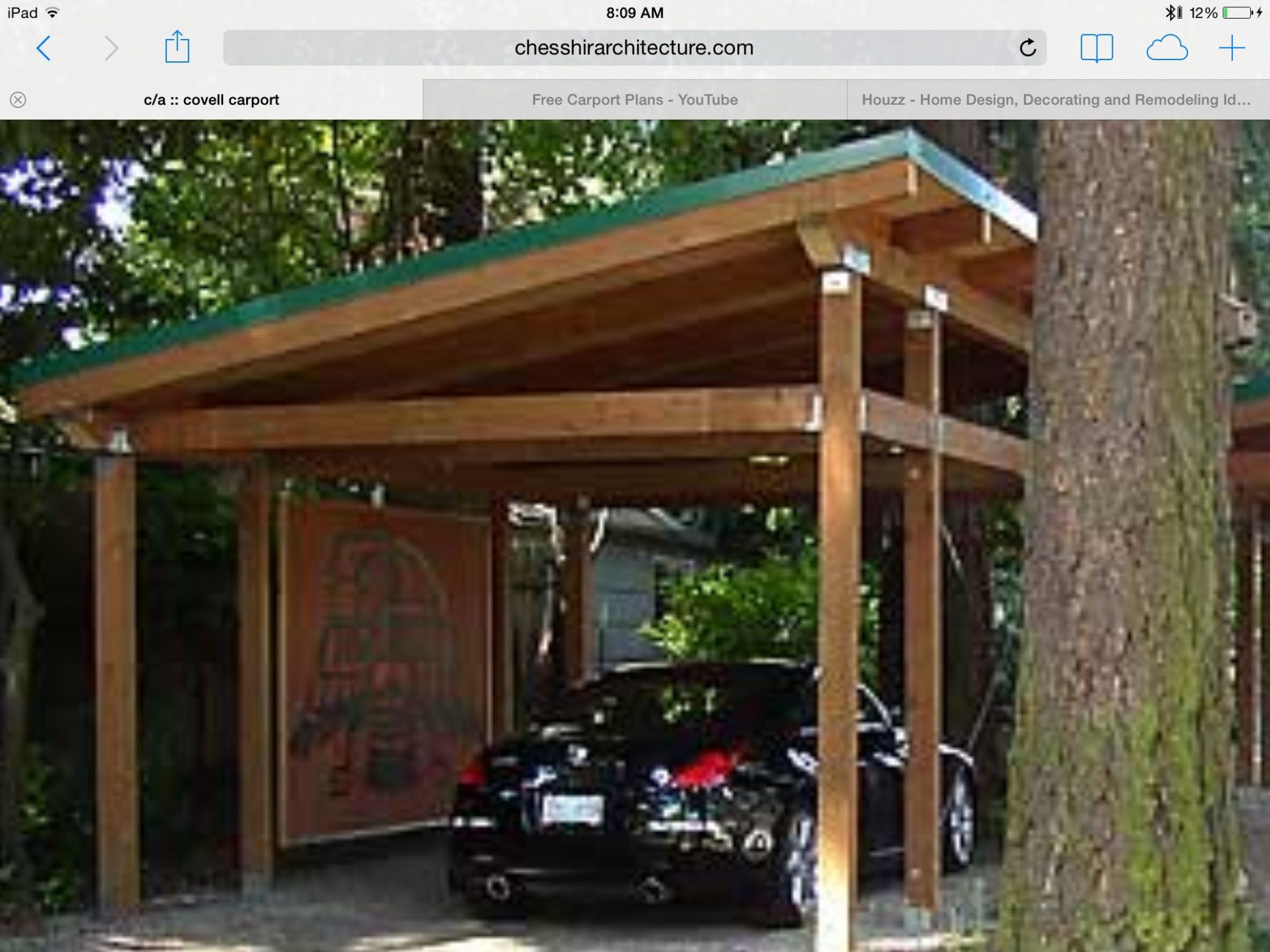 Timber framed carport | Shed roof | House styles, House ...
