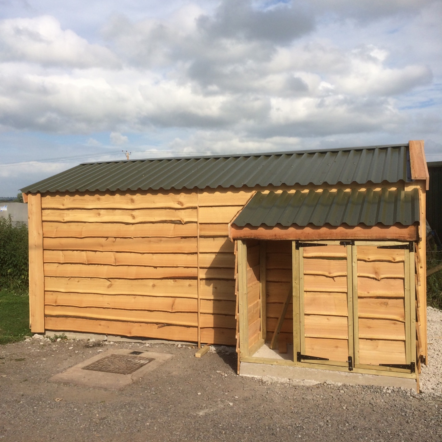 Timber Garage | The Wooden Workshop | Oakford, Devon Wooden Carports Devon