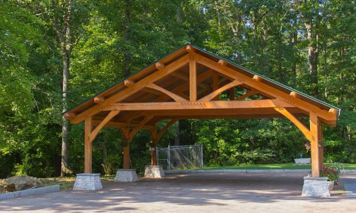 Timber Garages And Carports WoodWorking Projects & Plans Carport Garage Diy