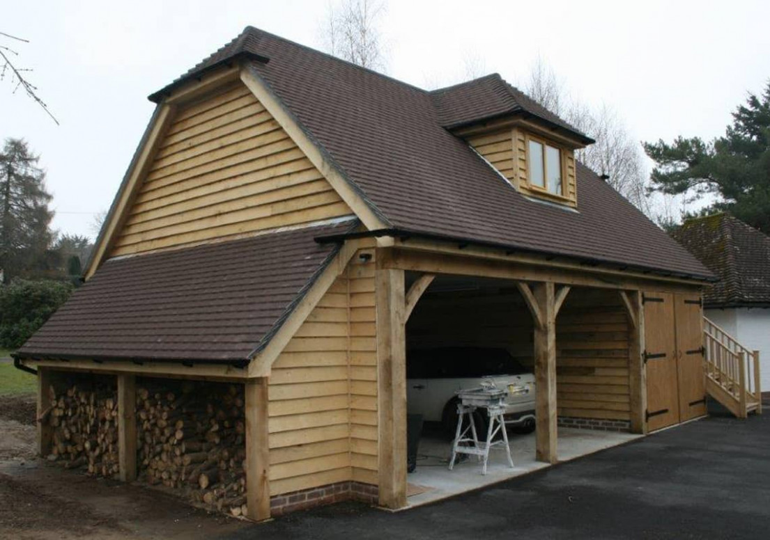 Timber Garages Ascot Timber Buildings Carport Garage With Storage
