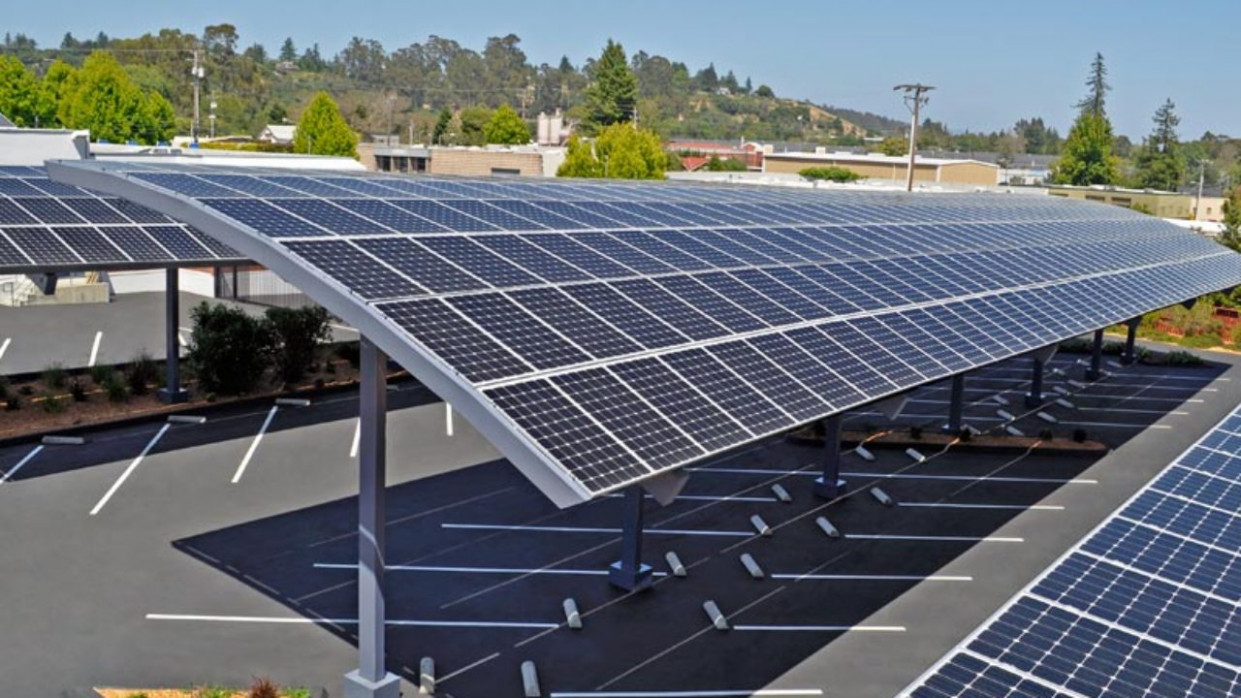 Top Solar PV Parking Structure Manufacturers Carport Covered Parking