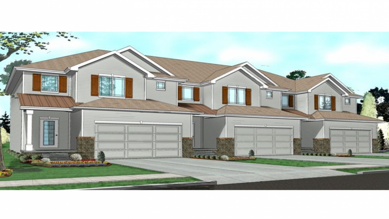 Townhouse Floor Plans 1 Story Townhouse With Garage Plans ..