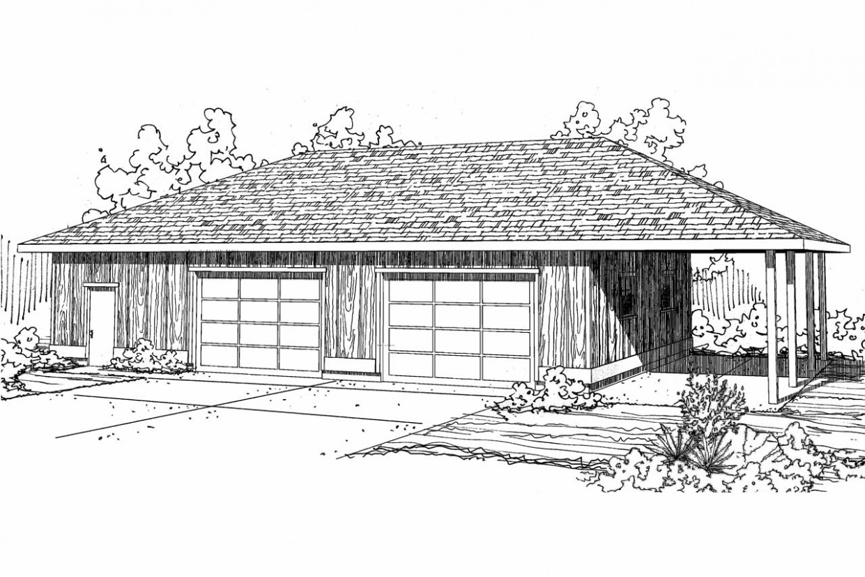 Traditional House Plans 7 Car Garage 7 7 Associated ..