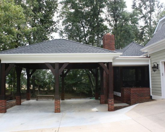 Traditional Traditional Carports Design, Pictures, Remodel ..