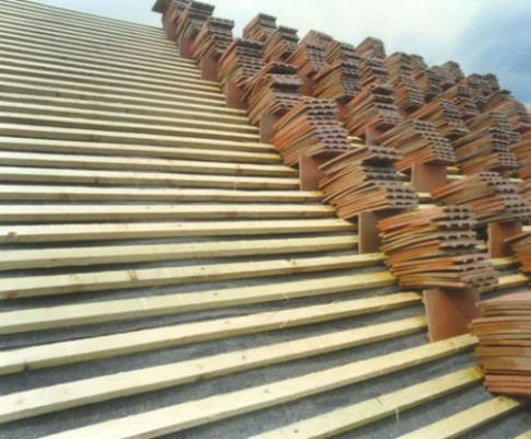 Treated Roofing Timber Batten Wooden Roofing Laths ..