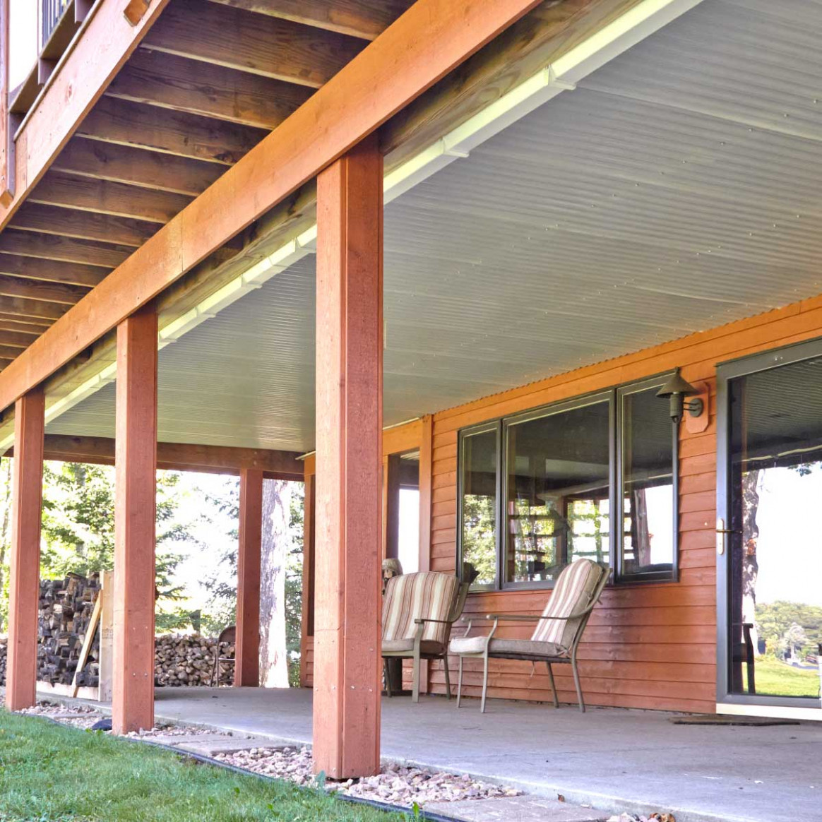 Under Deck Roof | The Family Handyman Carport With Roof Deck