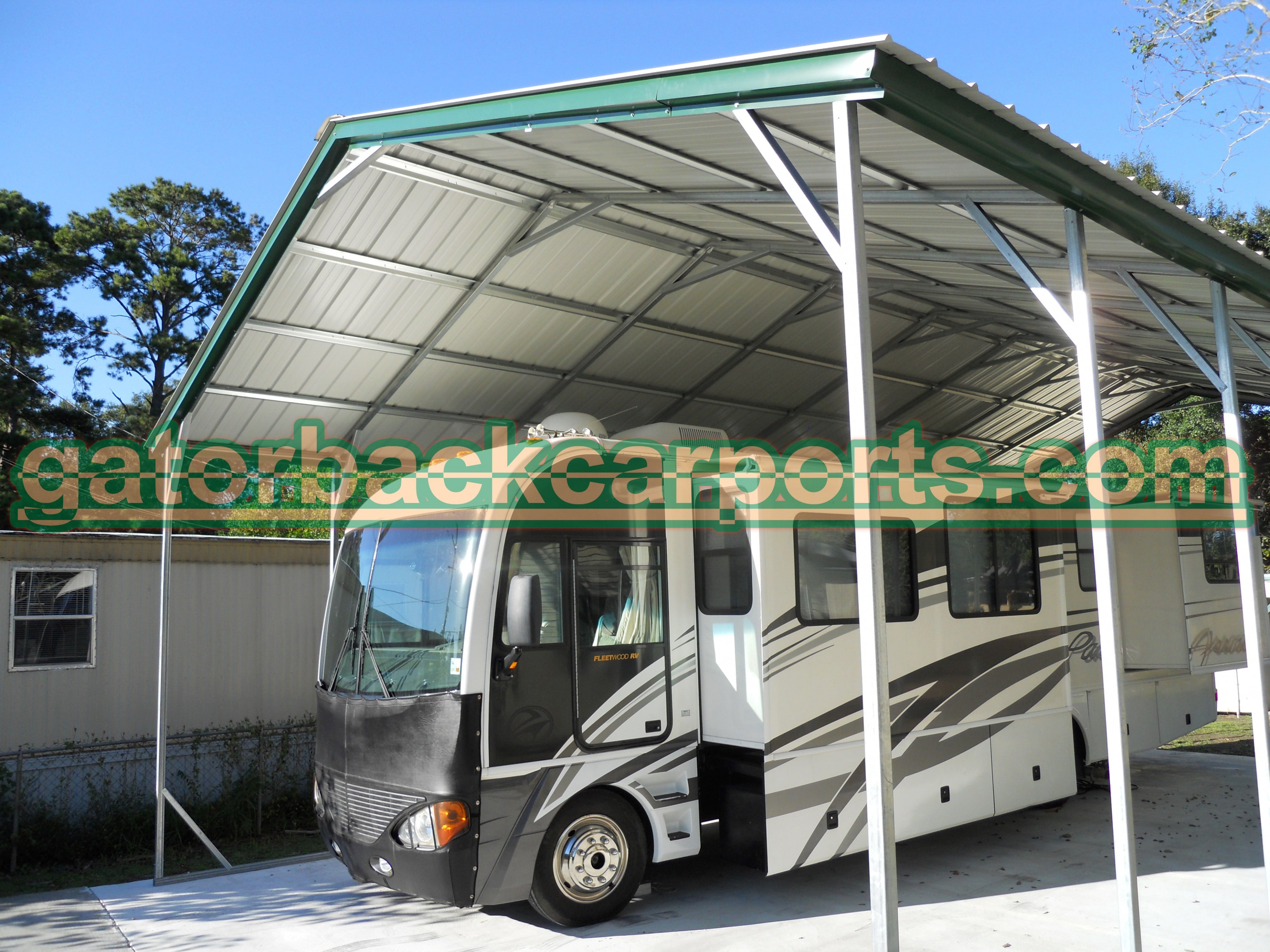 Understanding RV Carport Heights And Their Components ..