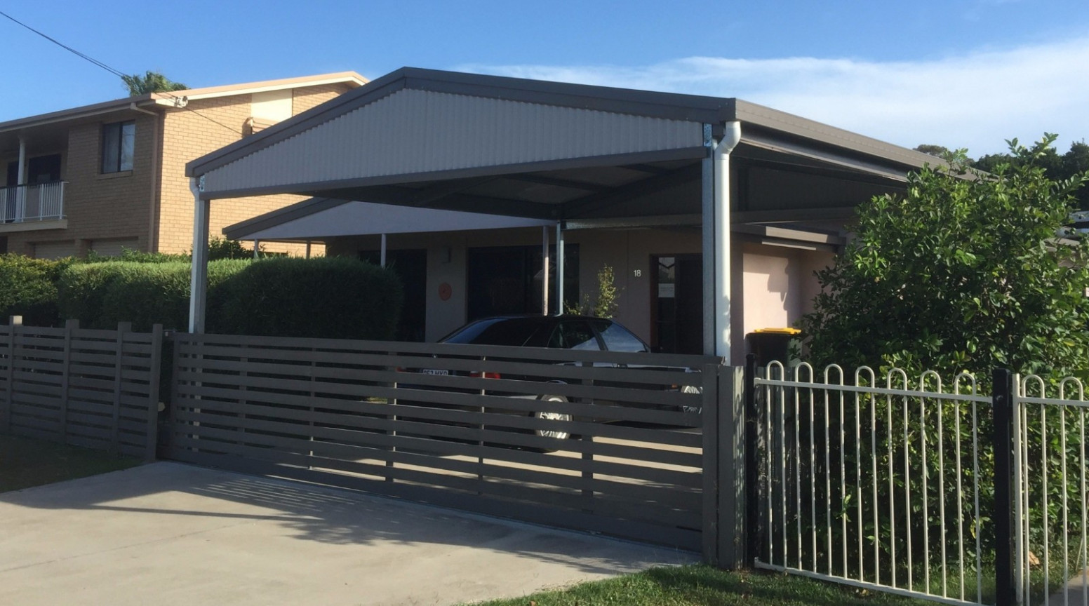 Universal Home Improvements Home Modern Carport And Fence