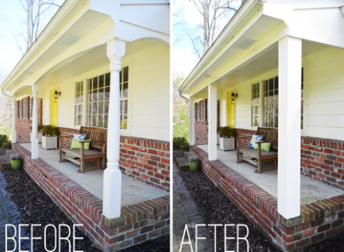 Updating Front Porch Posts   Front Porch Columns   Wood ..