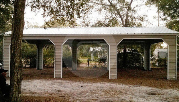 Vertical Roof Style Carports – Vertical Roof Metal ..