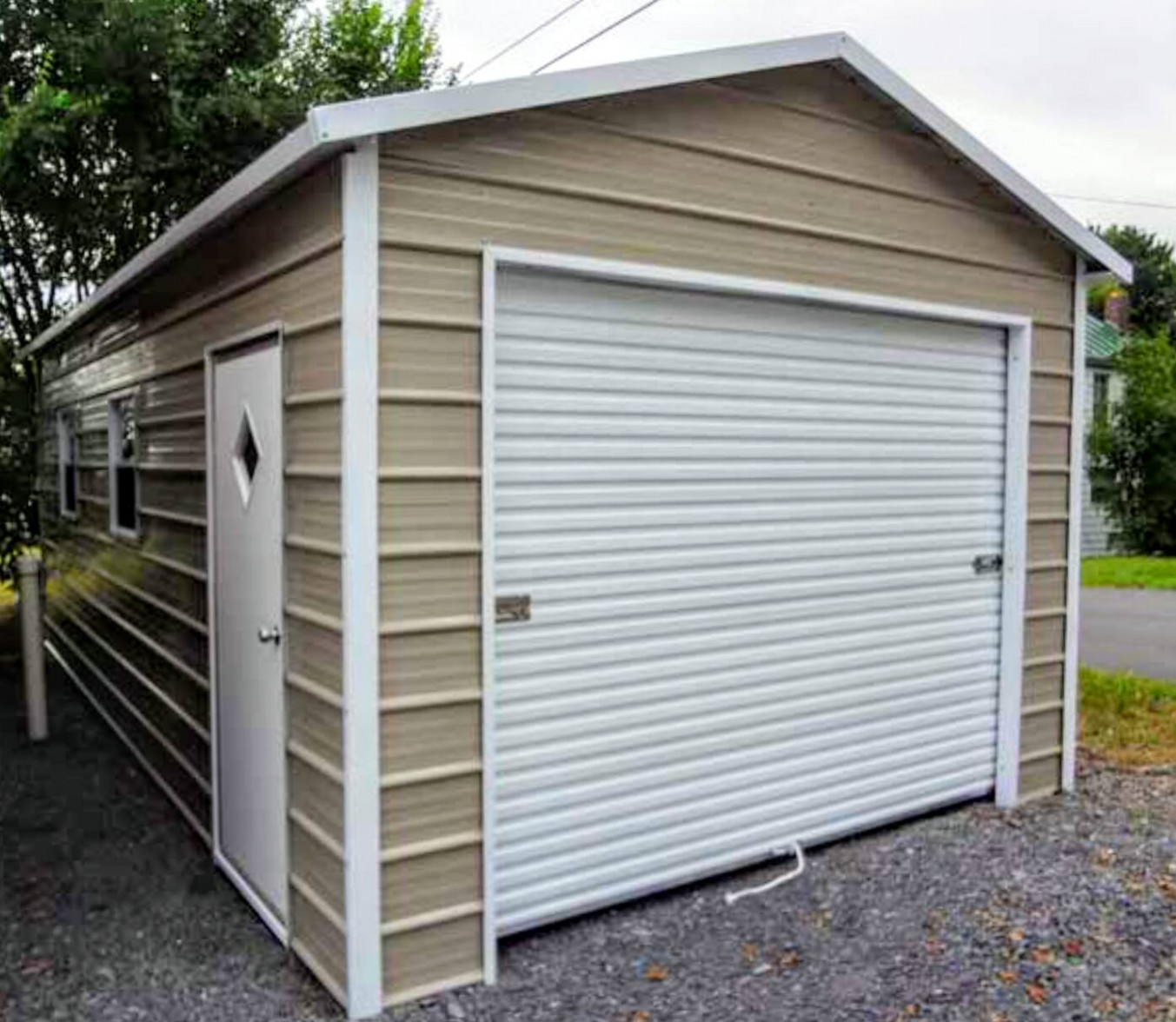 Victory Buildings – Metal Buildings, Carports, Gazebos Wooden Carport With Storage Shed