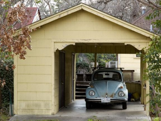 Vintage Style Carport With Attached Shed   Garages ..