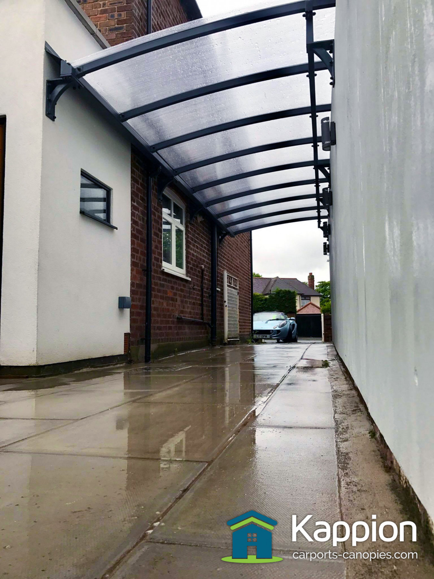 Wall Attached Carport Installed In Liverpool | Kappion ..