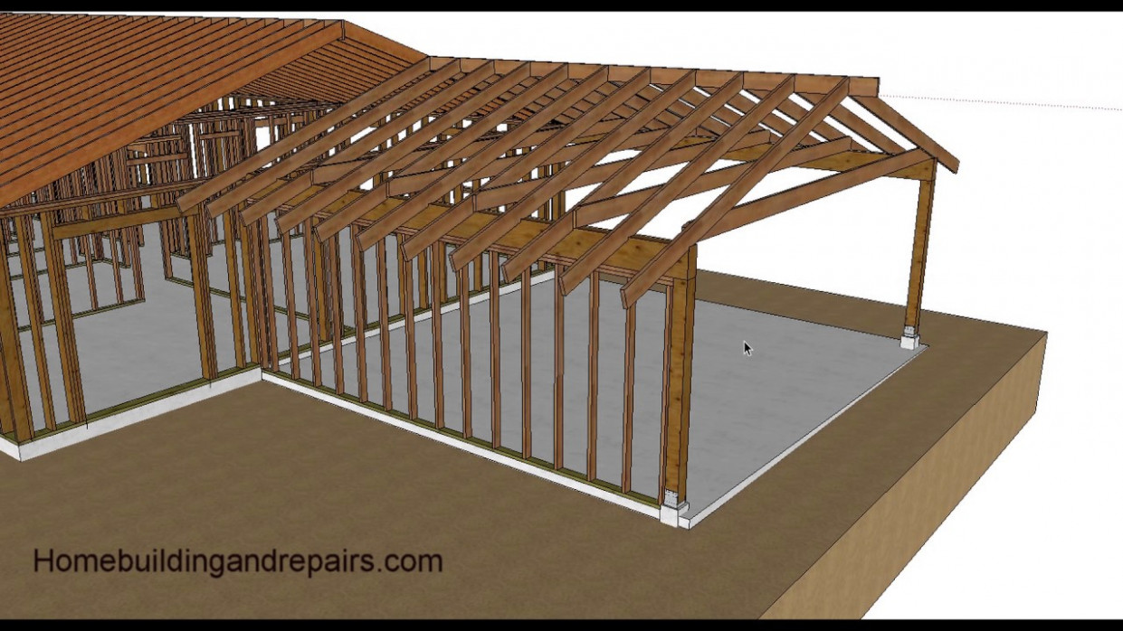 Watch This Video Before Turning Your Carport Into A Garage Or Living Space Wooden Carport With Room Above