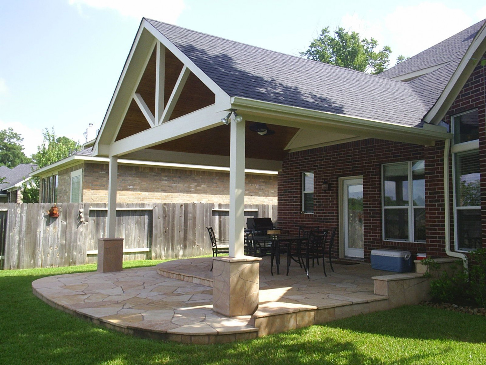We Construct And Build Patio Roof Extensions To Blend In ..