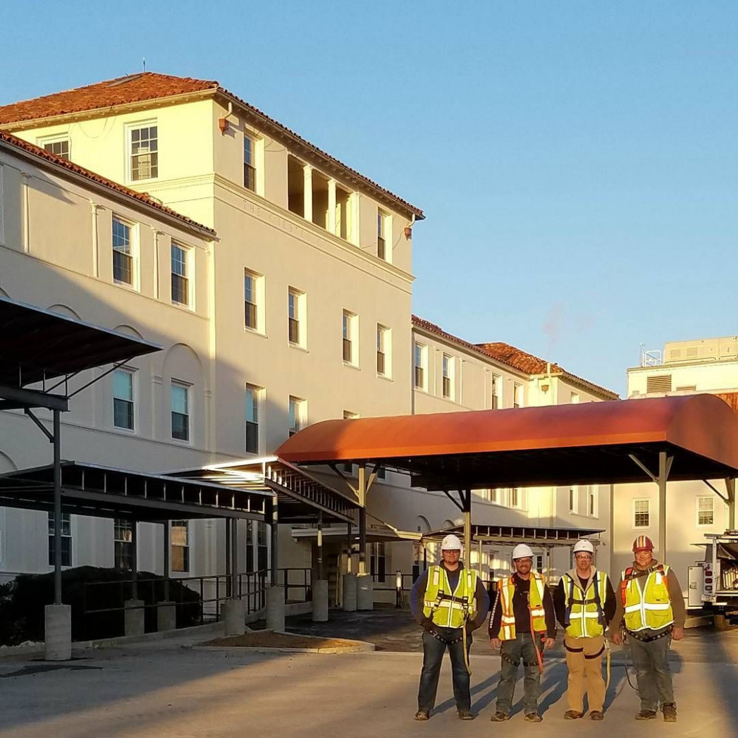 West Chester Hospital Carport Entrance Canopy With Shuttle ..